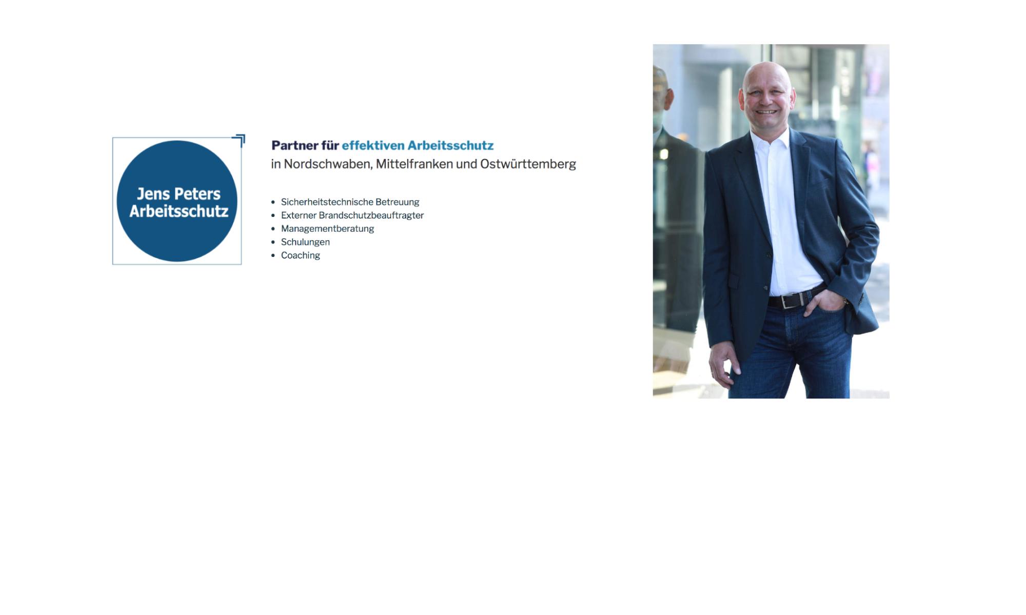 Jens Peters Arbeitsschutz